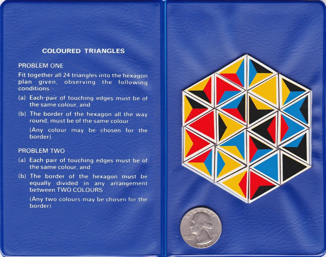Coloured Triangles Puzzles