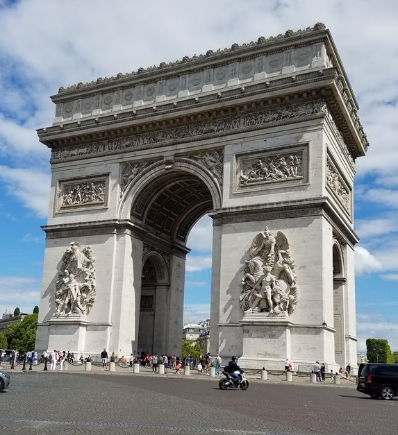 IPP37 Paris sights - Arc de Triomphe