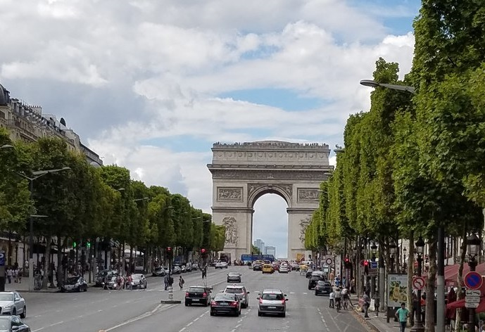 IPP37 Paris sights - Champs Elysee