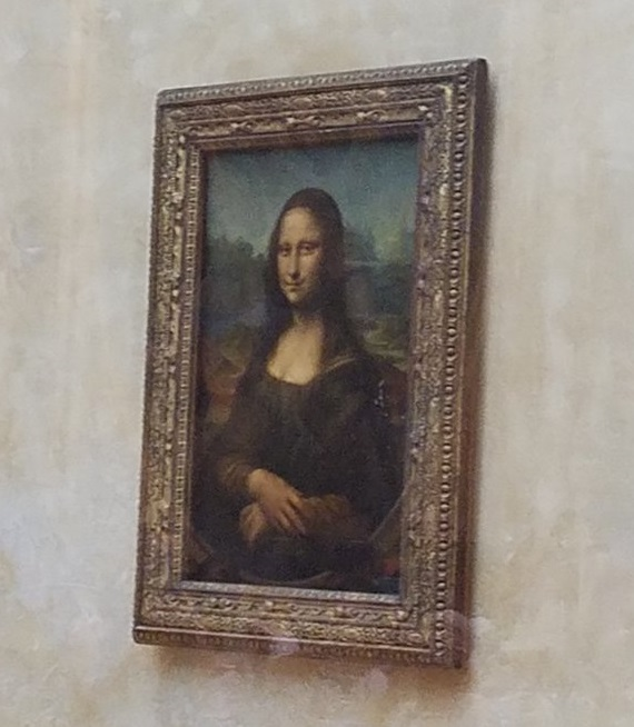 IPP37 Paris sights - Mona Lisa