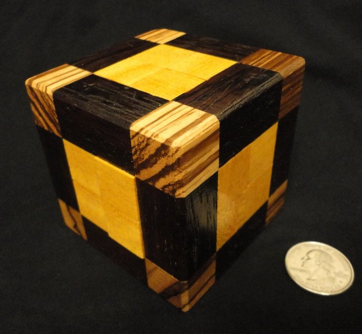 Locked Cube I - Crowell