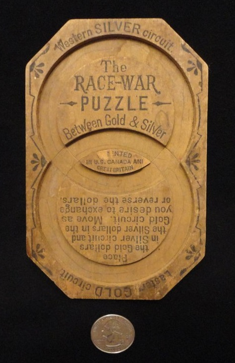 Race War Puzzle Between Gold & Silver